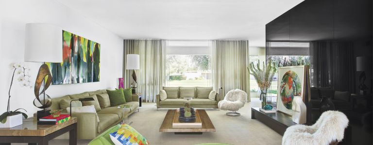 Contemporary Midcentury Palm Spring Residence