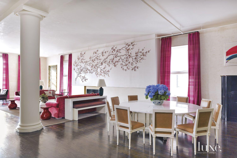 Contemporary Cream Great Room