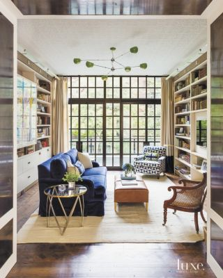 Historic New York City Brownstone with Eclectic Interiors Features