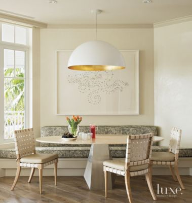 Breakfast Nook Ideas Part - 50: 23 Cozy Breakfast Nook Design Ideas | Features - Design Insight From The  Editors Of Luxe Interiors + Design