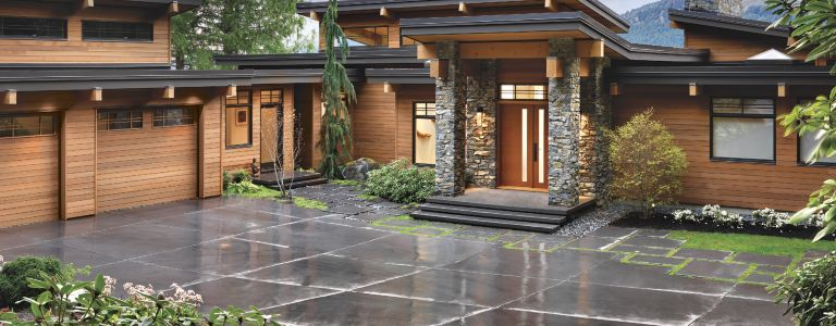 contemporary west coast style vancouver island home - West Coast Style Home Plans