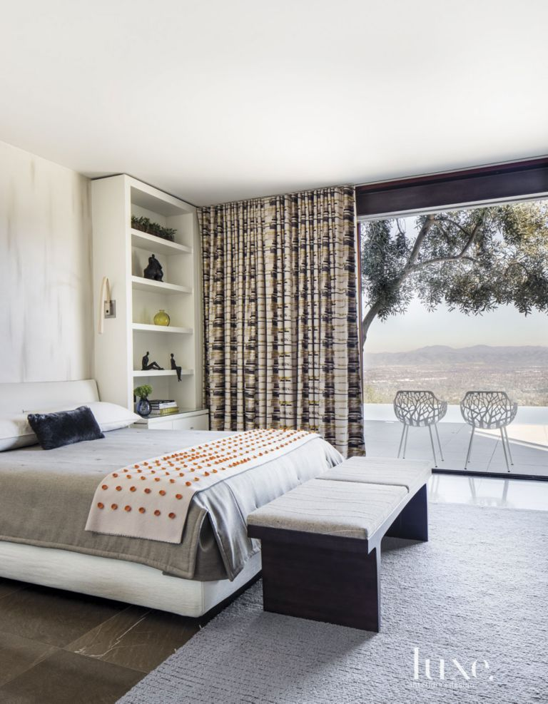 Contemporary White Guest Bedroom. Contemporary White Guest Bedroom   Luxe Interiors   Design