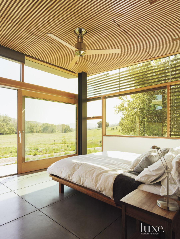 Modern Neutral Bedroom with Ceiling Fan