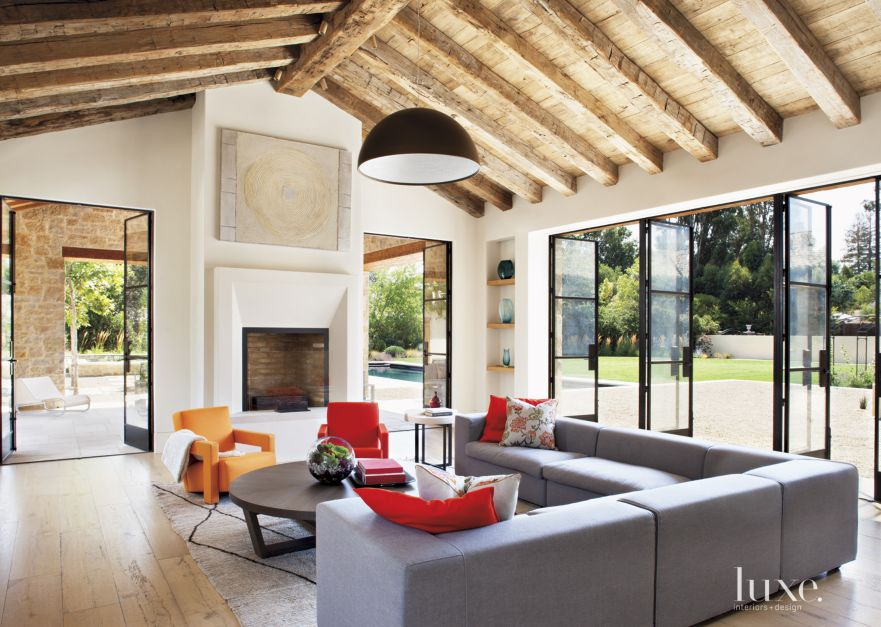 A Transitional Los Altos Hills Home with French Provincial Roots ...