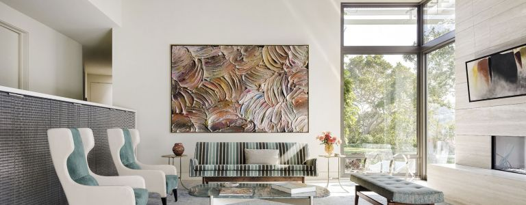 A Modern Mill Valley Home with Museum-Quality Art Collection ...