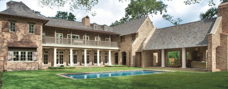 a traditional french country inspired houston ranch home features