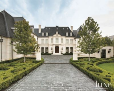 A French NeoclassicalStyle Residence in Dallas Features