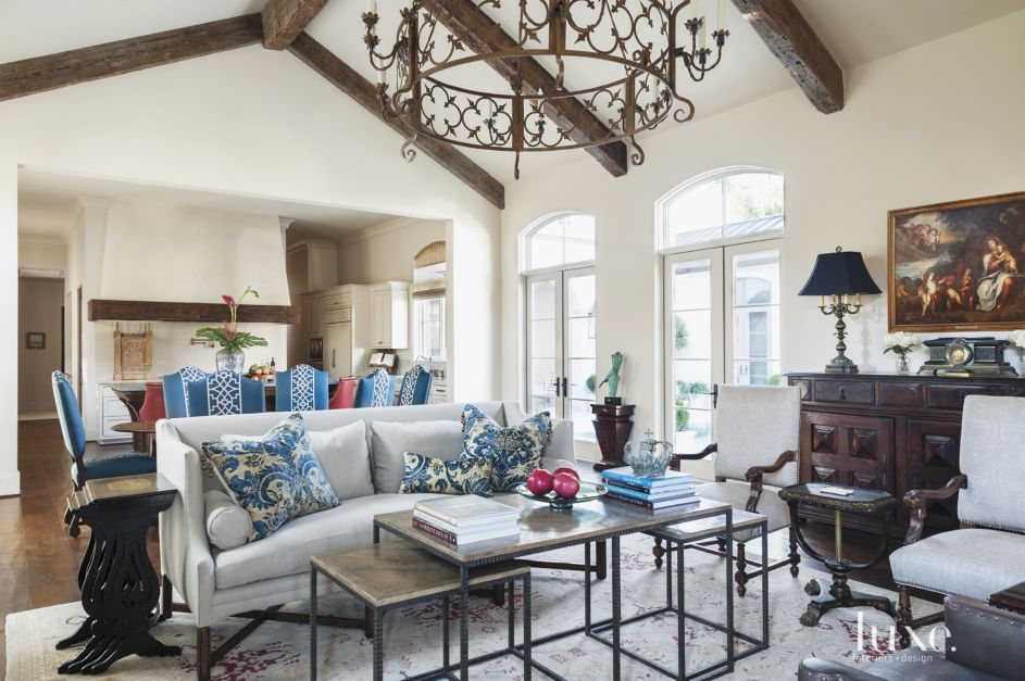 A Mediterranean Houston Estate with Old-World Style | Features ...