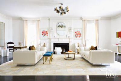 A Modern Art Deco-Style Houston Home & A Modern Georgian-Style Houston Home with Art Deco-Inspired ...