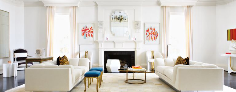 A Modern Art Deco Style Houston Home