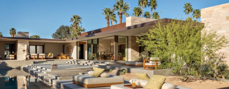 A Modern Palm Springs Desert Home with Midcentury Style | Features