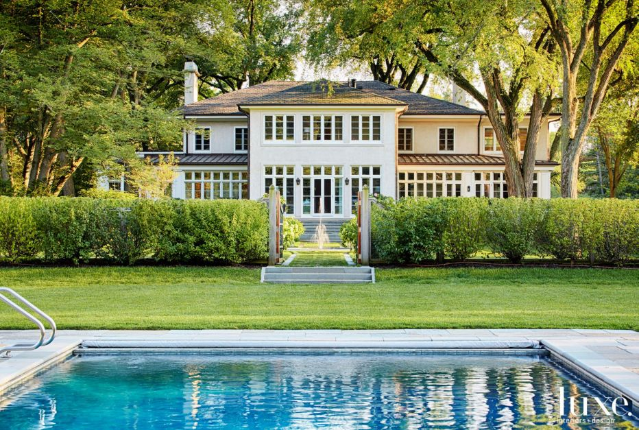 A Century-Old Lake Forest Home with Sprawling Grounds | Features - Design  Insight from the Editors of Luxe Interiors + Design