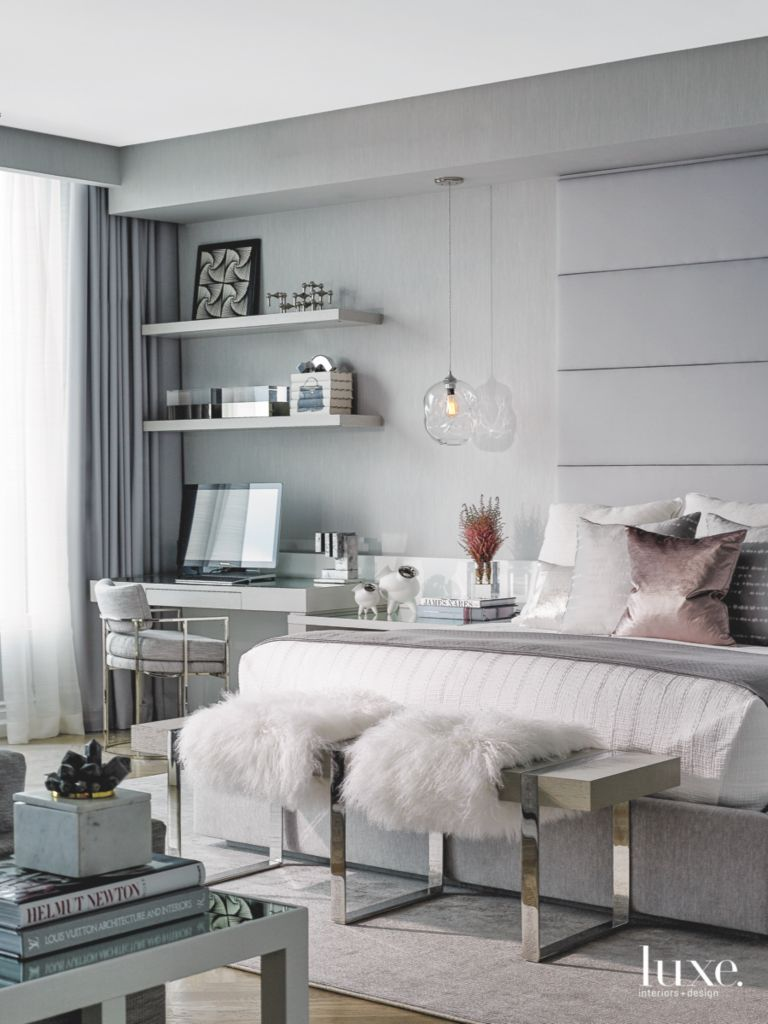Rose Gold And Grey Living Room Ideas