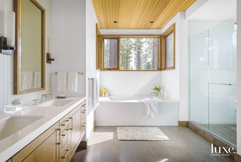 Reclaimed oak floor trend in bathroom luxe interiors for Creative design interior of nevada