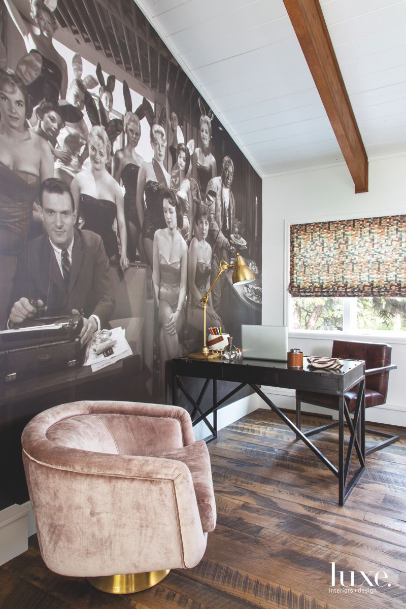 Chicago's Playboy Club Enlarged Photograph Wall Mural