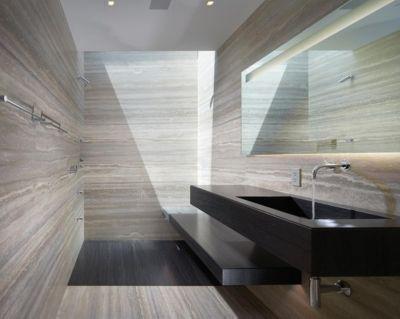 nom ultra modern stone bathroom luxesource luxe magazine rh luxesource com modern stone tile bathroom modern stone bathroom floors