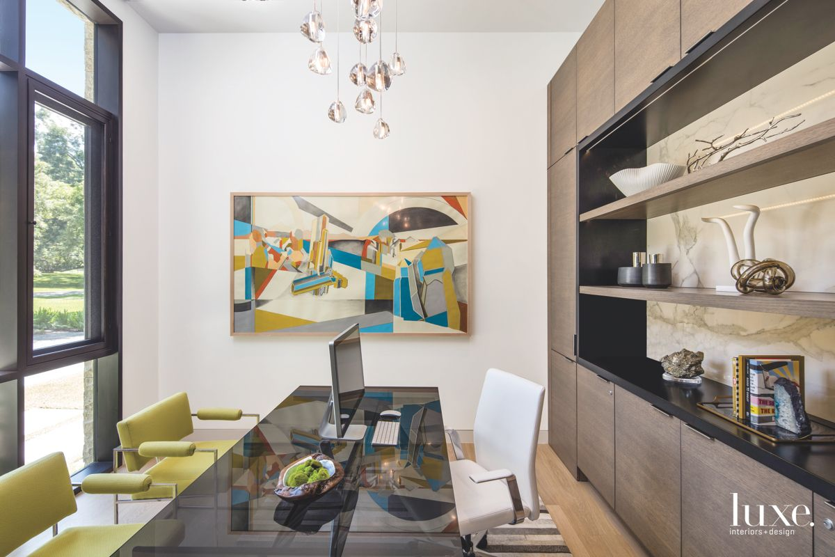Well-Decorated Austin Office with Lots of Light