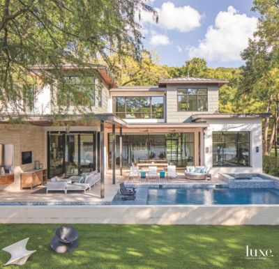 U201cThis Home Is All About The Lake Lifestyle,u201d Says Principal Architect James  LaRue, Describing The Rectilinear Structure He Designed For Clients On A ...