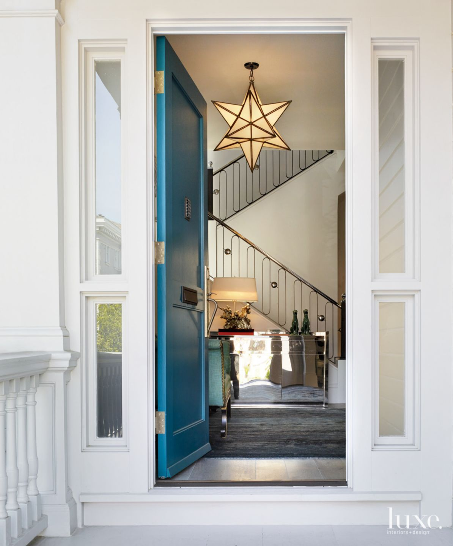 Eclectic Victorian Front Door