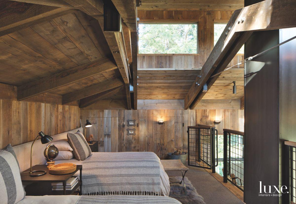 A Sleeping Loft with a Light Crown