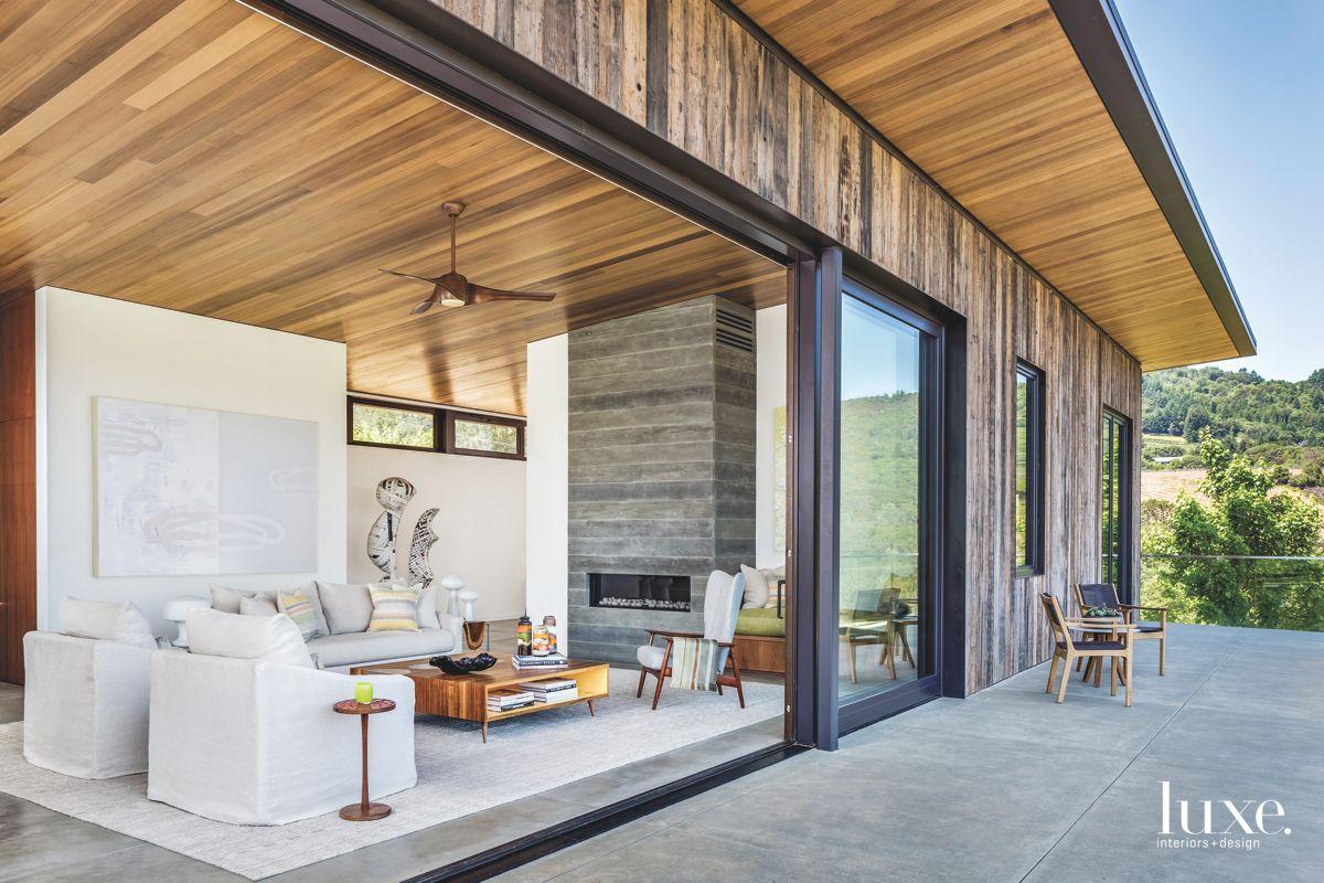 Dry Creek Valley Home with Cedar Ceilings