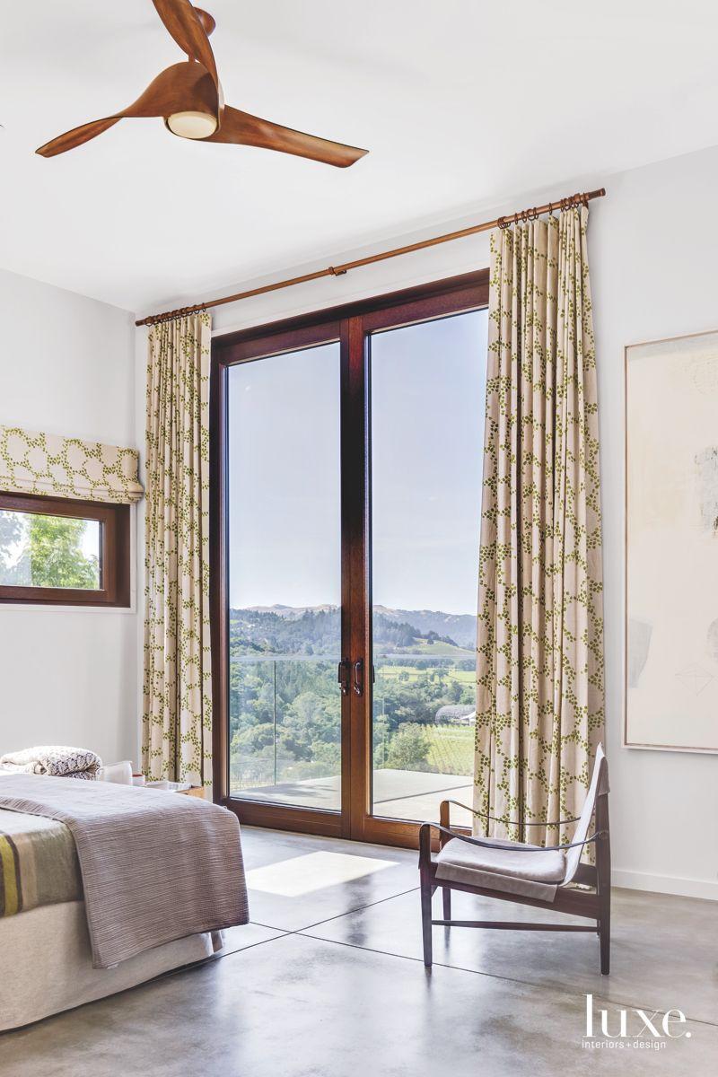 Custom Draperies Outlining Large Window