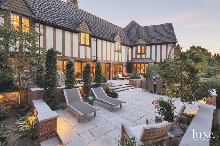 Multilevel Outdoor Patio Luxe Interiors Design