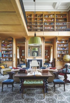 Related Home Tours Two Story Massive Library