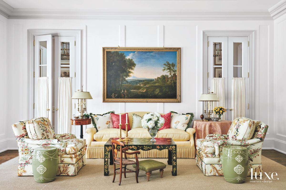 Chinoiserie Style Living Room Touches