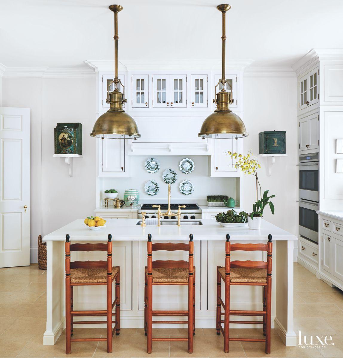 Casual, Soft White Kitchen