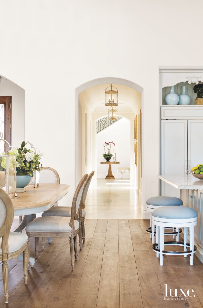A San Diego Residence Channels A French Country Farmhouse