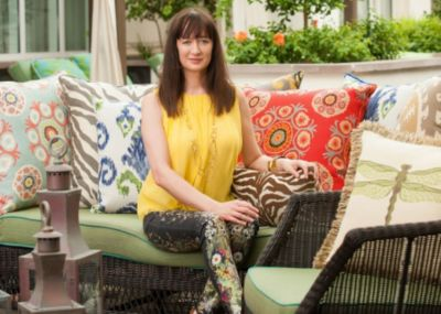 U201cI Like To Produce Designs That Have A Timeless Feel,u201d Says Elaine Smith,  The Creative Force Behind Her Eponymous Luxury Indoor Outdoor Pillow  Company Based ...