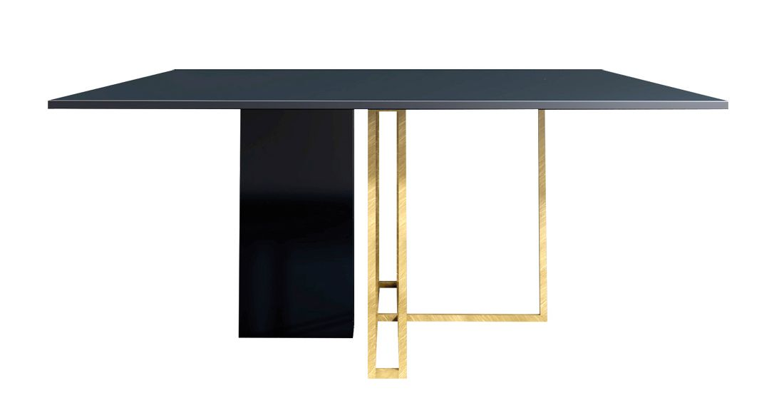 Plinto Square Table By Andrea Parisio Through Meridiani