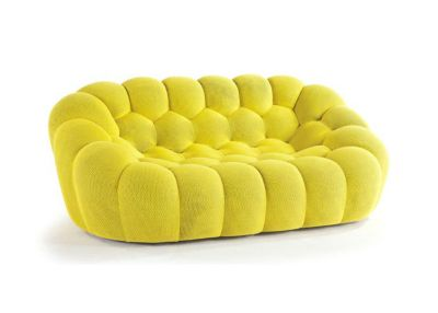Great BUBBLE Large 3 Seat Sofa In Techno 3D Fabric By Roche Bobois   LuxeSource    Luxe Magazine   The Luxury Home Redefined